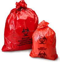 low density plastic infectious waste bags made in china at factory price