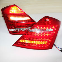 For Mercedes-Benz W221 S300 S350 S450 S500 S600 Tail Lamp 2006-09 year Red White Type