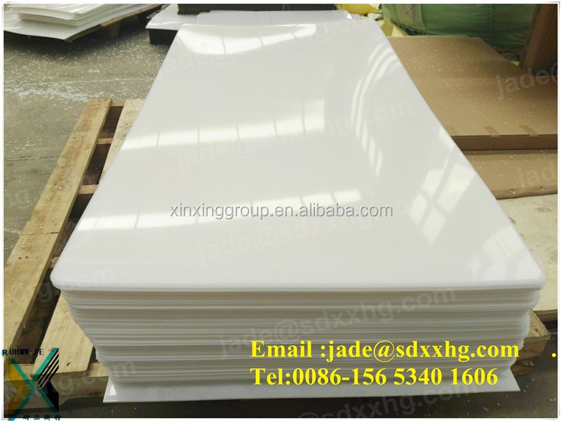 hard black HDPE plastic slip <strong>sheet</strong> for engineering | HDPE plastic