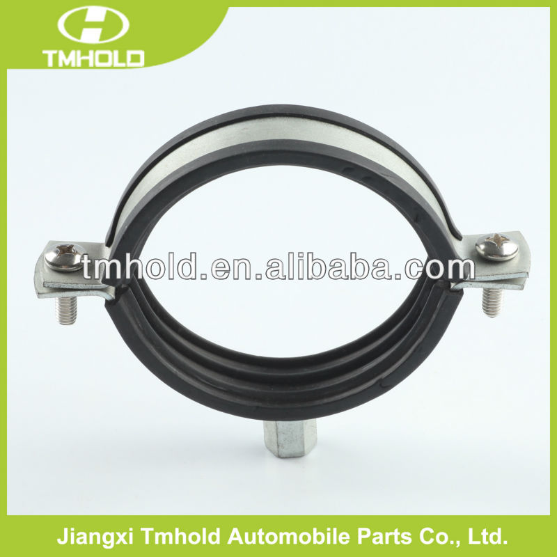 20mm Bandwidth Rubber Lined P Clips EPDM Hose Pipe Clamps - Cable Wiring Tube - Choice Listing