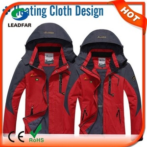outdoor sport ski smart rechargeable heating ladies coat pant suits