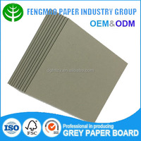 goodprice co-extrusion double side duplex grey board/grey chip board paper