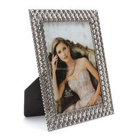standing multi photo frame scroll photo frame zinc alloy girl sexy photo frame