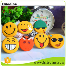 Promotional Gifts Wholesale Cheap Price 3D Emoji Soft PVC Rubber Fridge Magnet