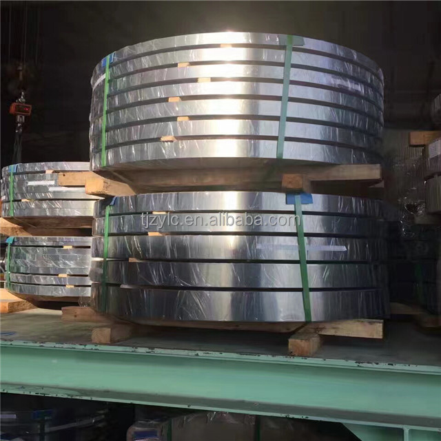 SPCC Zinc coated metal strip