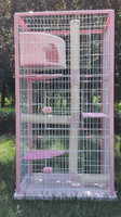 BSCI QQ petproducts factory cat cage design large cat cage pictures