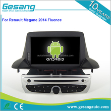 Gesang HD touch screen auto DVD player for Renault Megane 2014 Fluence with Quad Core Rockchip 3188 1080P 16g ROM WiFi 3G