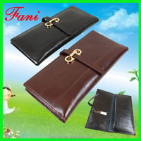 Hot selling fancy ladies genuine leather ladies party hand clutch purse with high quality