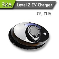 32A Wall Mounted Electric Car charger For Electric Car