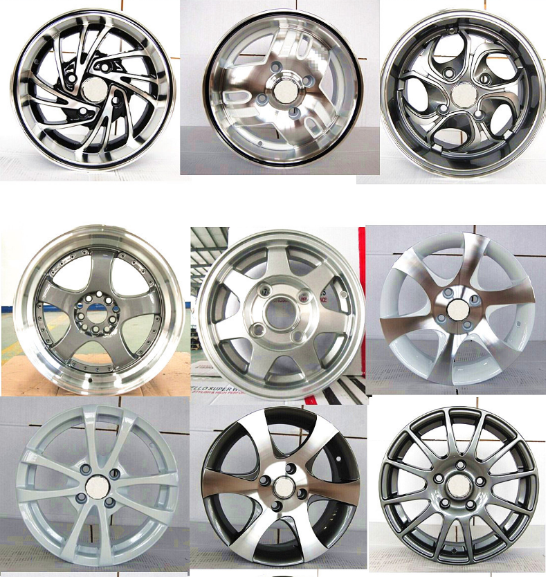 via aluminum wheels