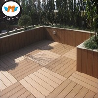 Outdoor WPC Decking Floor,Outdoor WPC Wood Flooring, Easily Installed WPC Composite Decking