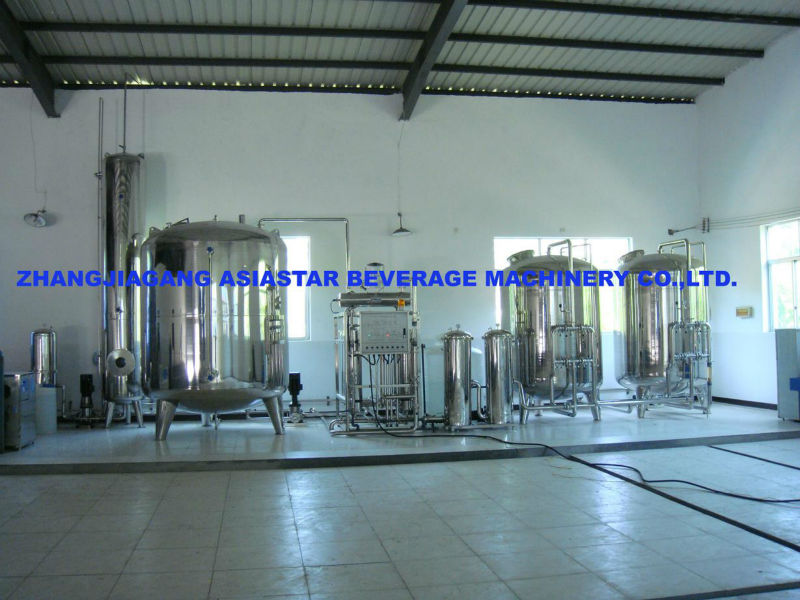 Mineral Water treatment equipment for food and beverage industry