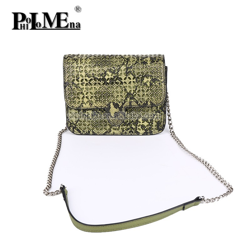 Fashion Fancy High Quality Handbag faux leahter shoulder bags Ladies Laser Designer Bags with chain strap