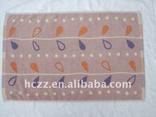 100% cotton printing floor towel