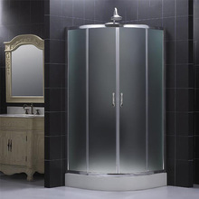 Sliding open waterproof Partition Doors Sliding Door rolling Shower room