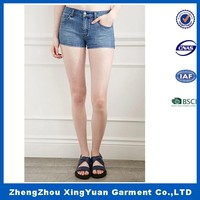 2016 OEM Service sexy tight shorts women tight jeans shorts
