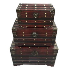 Cheap Antique Reproduction Furniture Wholesale Large Storage Trunk Box