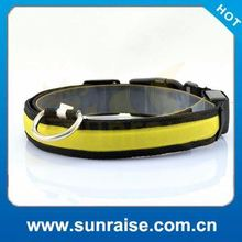 Factory Supply fancy dog collars small dogs Waterproof, bright light