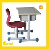 Adjustable kindergarten children study desk children desk and chair
