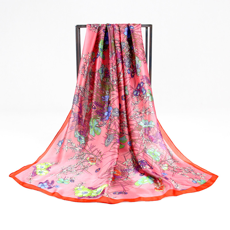 Brand Chiffon Shawl Beach Wrap Silk Long Scarf 175*90cm Scarves For Women Cachecol Desigual echarpe femme PP663AL Free Shipping