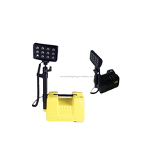 rechargeable remote area emergency portable generator led field hand held spot work search light explosion proof light