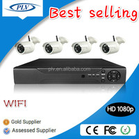 Best selling 4Channel 1080P full hd home security system wireless with camera