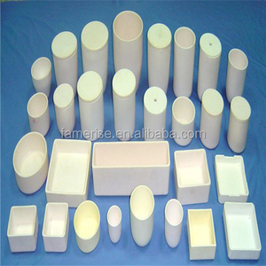 Different shape High temperature Alumina crucible