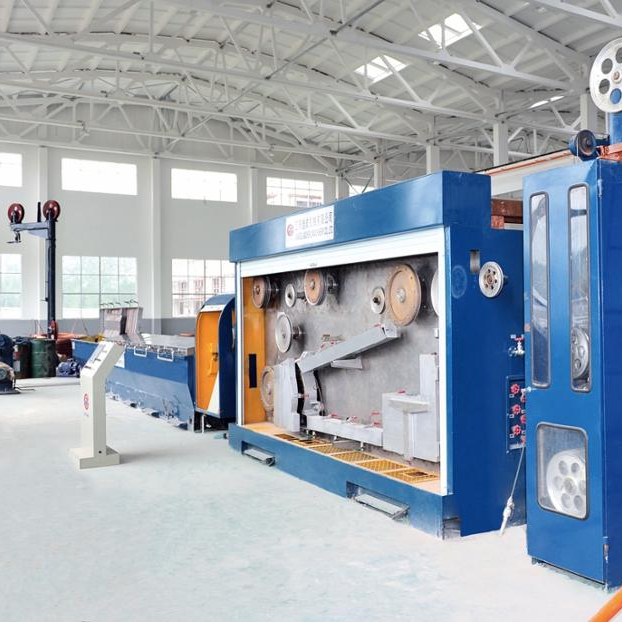China Manufacturer Stable performance good design slip wire drawing <strong>machine</strong>