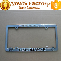 car accessory USA standard car license plate frame