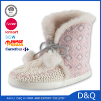 Fashion and warm fluffy Girls/ Ladies fur winter boots