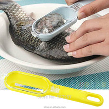 Fish Skin Scraping Fish Scale Brush Graters Fast Remove Kitchen Gadgets New 1 Pcs