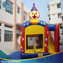 Hot clown inflatable bouncy castles