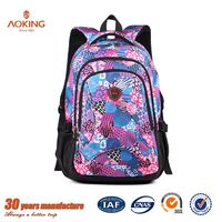 Fancy trendy university young OEM school bag women fashion/.