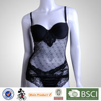 Top Quality Fashion Female Black Adult Nightwear