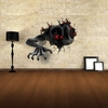 68cm x 58cm 3D Terror Pattern Removable Vinyl Wall Stickers Home Decor