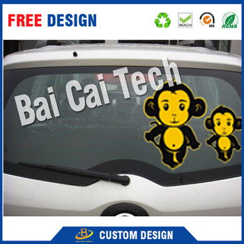 Dongguan best price high quality custom design car decoration vinyl sticker