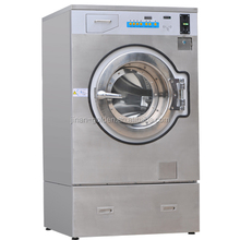 Commercial coin operated washing machine and dryer