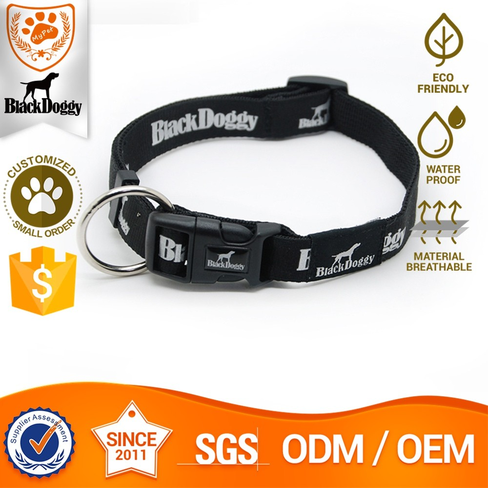 Eco-Friendly Nylon Unique Martingale Dog Collar Design Germany Small Order Available