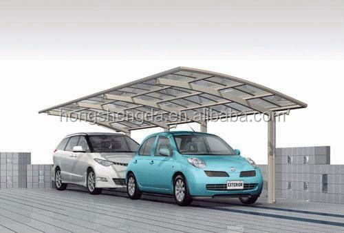 flat roof carports garages with polycarbonate roof