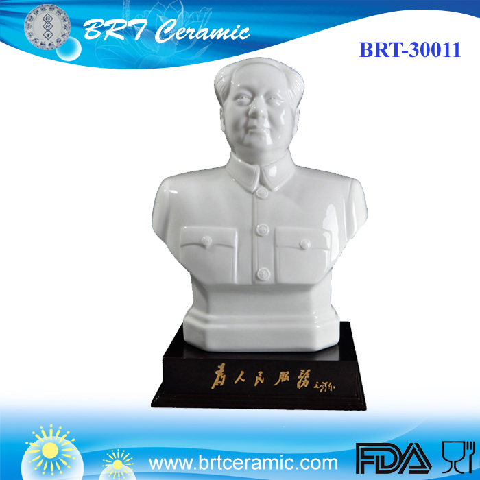 custom ceramic chinese character famous King figurine