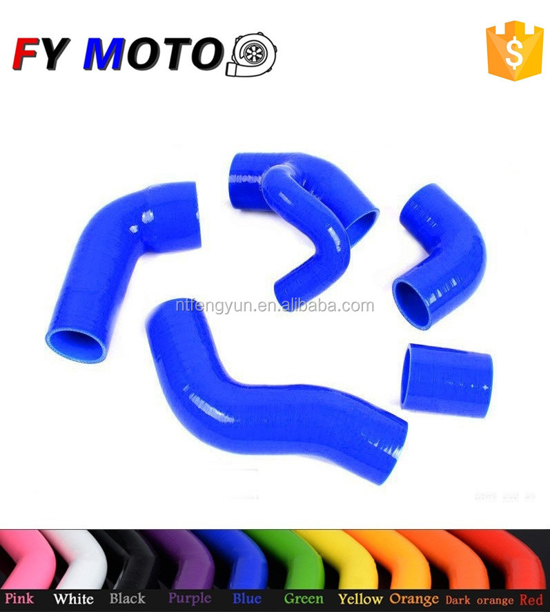 SILICONE RADIATOR HOSE For Volvo 850 T-5 T-5R 93-97 S70 V70 T5 2.3