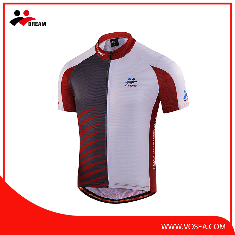 New product china cheap custom cycling jersey with best price
