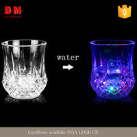 Party modern round led glow glass