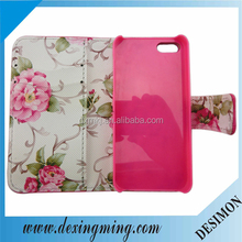 right open case for iphone5,mobile phone leather case for iphone5