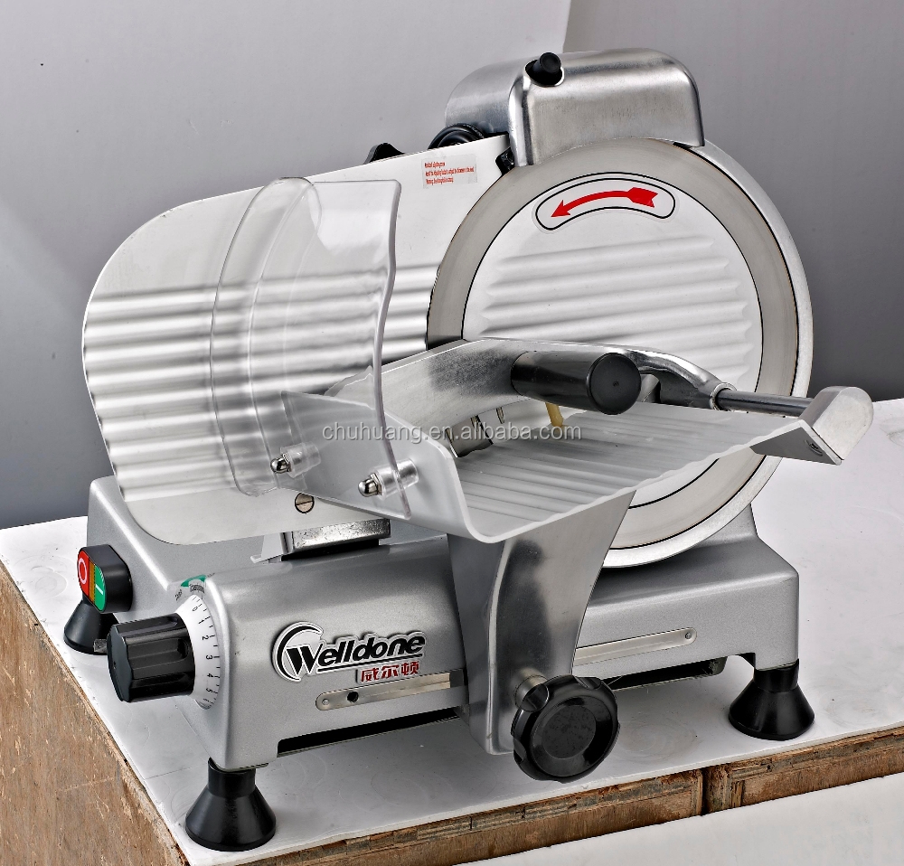 10 inch Semi-Automatic Electric Frozen Meat Slicer for sale