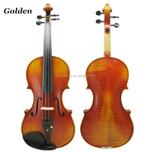 Jinqu golden brands of factory supply European Material flamed Professional 4/4 handmade Violin