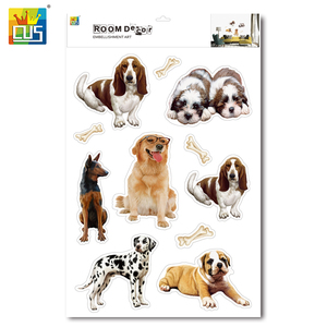 Best Selling Kids Room Decor Reusable Animal Wall Stickers