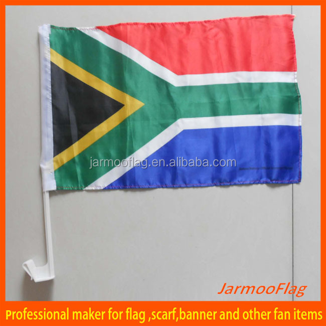 custom national south africa car flag