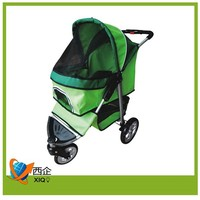 dog safety product aluminum pet trolley