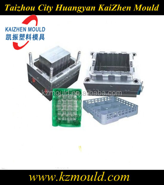 Hot runner plastic beer crate mould injection crate mold manufacturer